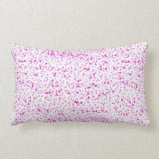 Almofada Lombar Travesseiros manchados rosa
