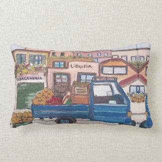Almofada Lombar Um mini caminhão do mercado - travesseiro
