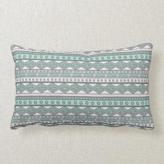 Almofada Lombar Verde da hortelã e travesseiro lombar asteca