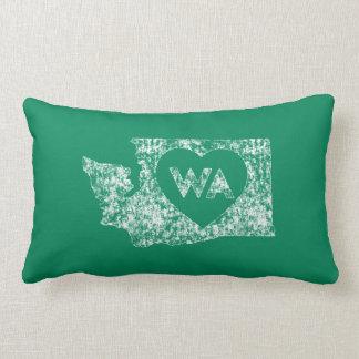 Almofada Lombar Vintage eu amo o travesseiro lombar do estado de