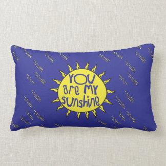 Almofada Lombar Você é meu travesseiro da luz do sol