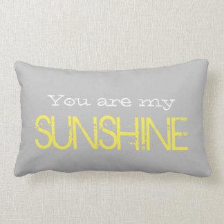 Almofada Lombar Você é meu travesseiro lombar da LUZ DO SOL