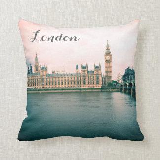 Almofada Londres, casas do parlamento, travesseiro do
