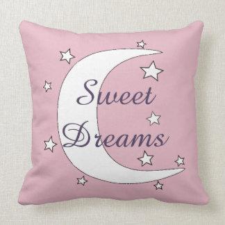 Almofada Lua bonito e sonhos doces das estrelas