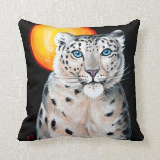 Almofada Lua do leopardo de neve