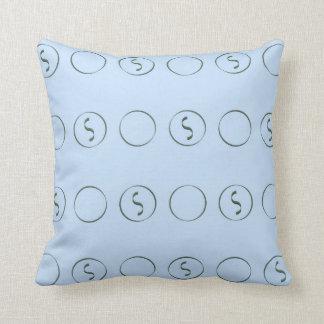 Almofada Luz - azul com travesseiro dos Squiggles