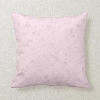 Almofada Luz subtil - teste padrão cor-de-rosa