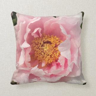 Almofada Luz - travesseiro cor-de-rosa da peônia