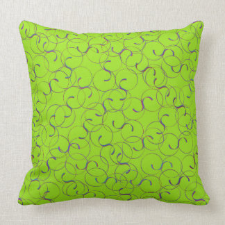 Almofada Luz - travesseiro dos Flourishes do verde