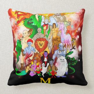 Almofada M é para o travesseiro decorativo Mythical