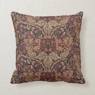 Almofada Madressilva 1876 de William Morris do vintage
