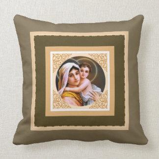 Almofada Mãe abençoada que guardara o bebê Jesus