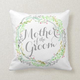 Almofada Mãe do travesseiro do casamento da aguarela do