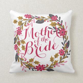 Almofada Mãe do travesseiro do casamento do Natal da noiva