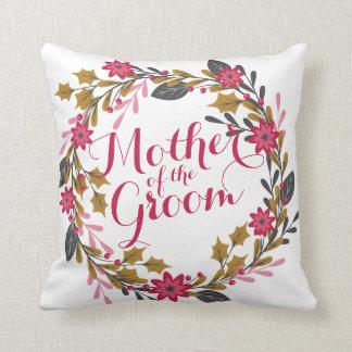 Almofada Mãe do travesseiro do casamento do Natal do noivo