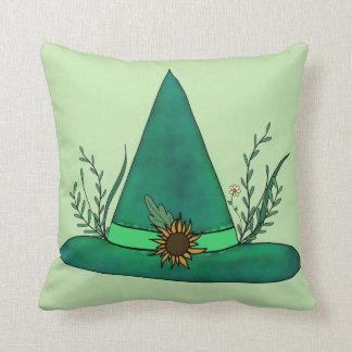 Almofada Mágica pagã da feitiçaria do artesanato verde da