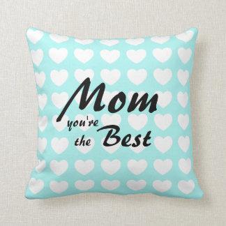 Almofada Mamã do descanso do dia das mães você é o melhor