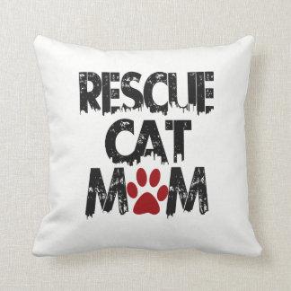 Almofada Mamã do gato do salvamento