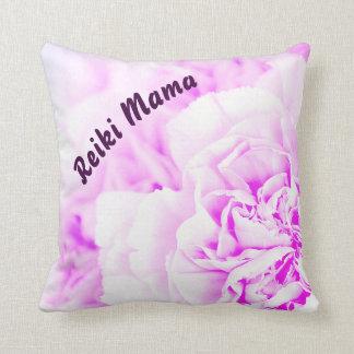 Almofada Mama floral roxo de Reiki