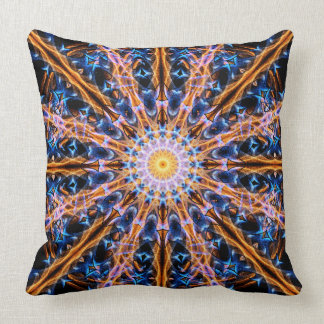 Almofada Mandala da estrela da alquimia