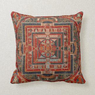 Almofada Mandala do travesseiro decorativo de Manjushri