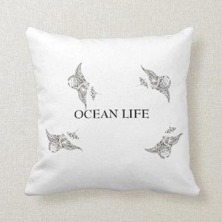 Almofada Manta-raios da VIDA do OCEANO