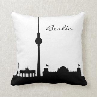 Almofada Marco preto e branco de Berlim