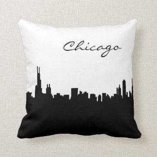 Almofada Marco preto e branco de Chicago