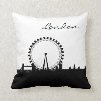 Almofada Marco preto e branco de Londres