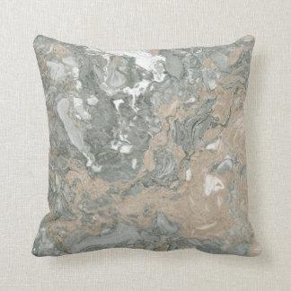 Almofada Marfim Home mínimo de mármore Cali cinzento