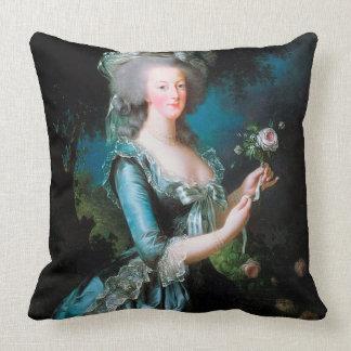 Almofada Marie Antoinette no travesseiro do coxim do jardim