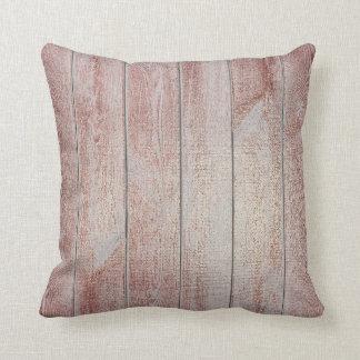 Almofada Marrom de madeira metálico Glam da casa de campo