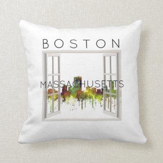Almofada Mas de Boston. Lustre do safari da skyline