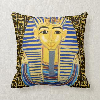 Almofada Máscara e Cartouche do ouro de Tutankhamun