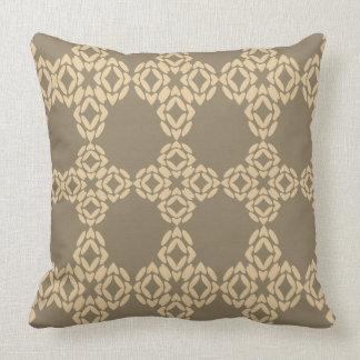 Almofada Máscaras do travesseiro decorativo Khaki de