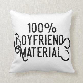 Almofada Material 100% do namorado