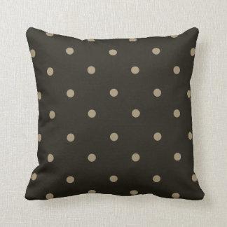 "Almofada _MED-Brown-Beige de ""Dottie""--Grupos travesseiro"