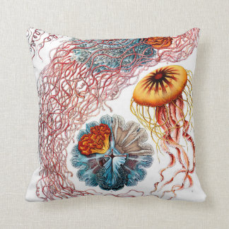 Almofada Medusa de Ernst Haeckel Discomedusae