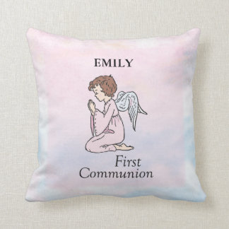 Almofada Menina, primeiro anjo do comunhão