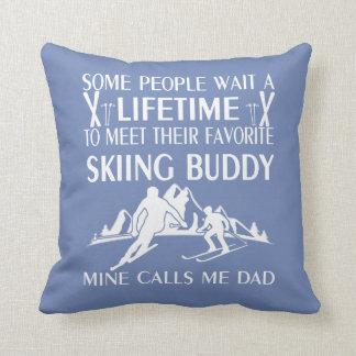 Almofada Meu amigo favorito do esqui