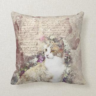 Almofada Meu amigo felino do vintage
