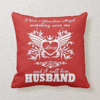 Almofada Meu anjo-da-guarda, meu marido