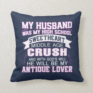 Almofada Meu marido era meu querido do segundo grau
