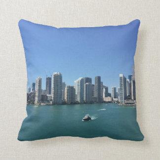 Almofada Miami do mar