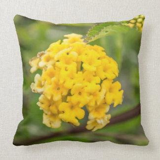 Almofada Micro travesseiro decorativo amarelo bonito da