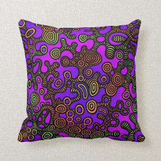 Almofada Microcosmo urbano da camuflagem mim travesseiro