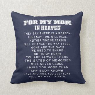 Almofada Minha mamã no céu