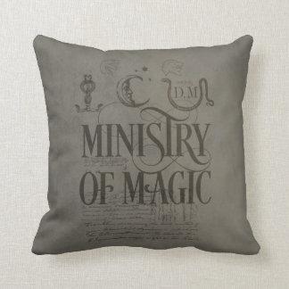 Almofada MINISTÉRIO do período | de Harry Potter da MÁGICA