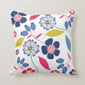 Almofada Mistério floral do travesseiro das estações