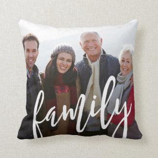 Almofada Modelo da foto de família